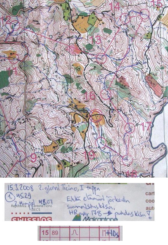 Map 6: Novaggio (MAP 2) - Locarno/Roveredo - March 15th 2008 ...