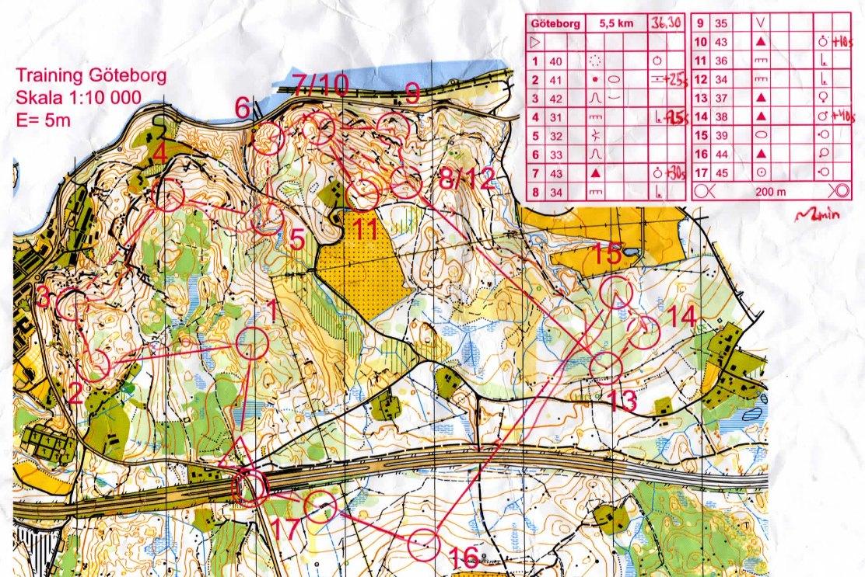 Göteborg training